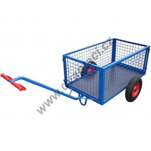 Dvoukolový plošinový vozík VO 1200x700 mm, nosnost 200 kg