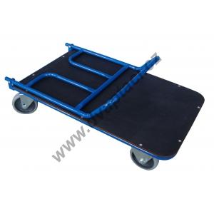 Sklopný plošinový vozík 1BSS 800x500 mm, nosnost 200 kg
