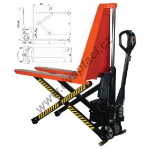 Ruční nůžkový vozík LEMA HB 1056 EL