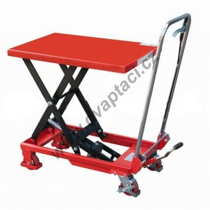 Hydraulický zvedací stůl LMF80, nosnost 800 kg