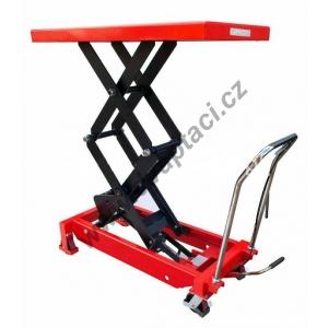 Hydraulický zvedací stůl LMFD80, nosnost 800 kg