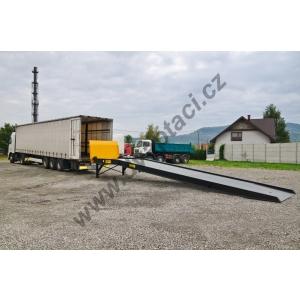Stacionární nájezdová rampa