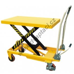 Hydraulický zvedací stůl TF75, nosnost 750 kg