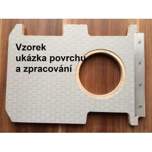 Podlaha,  Iveco Daily 14 L2H2 3520 SDR, Barn door,  šedá 12 mm
