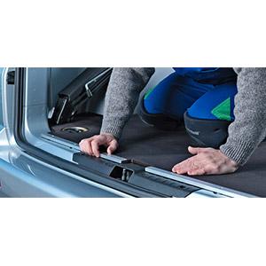 Podlaha,  Ford Connect L1 2662 SD2, Alu-profil