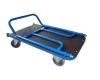 Plošinový vozík 1BKS 1200x700 mm, šroubovací madlo, nosnost 600 kg - zobrazit detail zboží