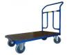 Plošinový vozík 1BRS 1000x600 mm s pevným madlem, nosnost 400 kg - zobrazit detail zboží