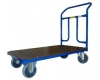 Plošinový vozík 1BRS 1000x700 mm s pevným madlem, nosnost 400 kg - zobrazit detail zboží