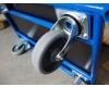 Plošinový vozík 1BRS 1000x700 mm s pevným madlem, nosnost 300 kg