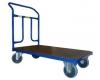 Plošinový vozík 1BRS 1200x700 mm s pevným madlem, nosnost 300 kg - zobrazit detail zboží