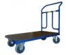 Plošinový vozík 1BRS 1200x700 mm s pevným madlem, nosnost 400 kg - zobrazit detail zboží