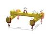 Jeřábový závěs THRR s přestavitelnými závěsy břemena - zobrazit detail zboží
