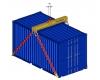 Jeřábový závěs lodních kontejnerů TPK-A - zobrazit detail zboží