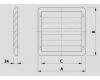 Ventilátorové žaluzie UZW-17