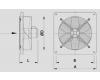 Ventilátor do nebezpečím výbuchu WOO 35/30 DEx
