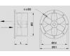 Axiální ventilátor do potrubí WOO 23/17 2K
