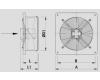 Průmyslový axiální ventilátor  WOP-35