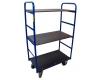 Třípatrový vysoký vozík 3P 850x500 mm, nosnost 250 kg, výška 1500 mm - zobrazit detail zboží